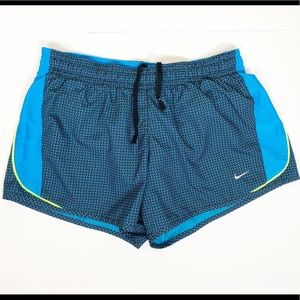 Nike Dry Fit Running Shorts with Mesh Side Panels